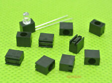 3mm Led Spacer 90degree Led Holder Black 1 positions.100pcs