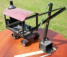 Vintage Buddy L toy steam shovel,  The Moline Pressed Steel Co.