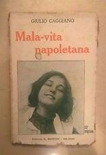 MALA VITA NAPOLETANA CAGGIANO BARION 1925
