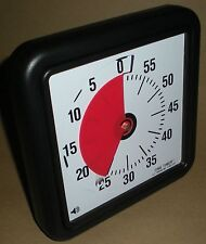 TIME TIMER VISUAL ALARM COUNTDOWN CLOCK FOR PERCEPTION PROBLEMS AUTISM ASPERGER