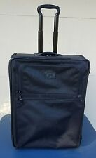"Tumi Alpha Black 24"" Upright Wheeled Expandable Short Trip Suitcase 22024DH"