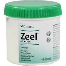 ZEEL Tabletten f.Hunde/Katzen 500 St PZN 2858738