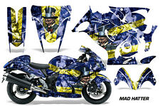 AMR Racing Graphic Kit Wrap Part Suzuki Hayabusa 1300 Street Bike 08-13 HATTER Y