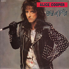 "ALICE COOPER Bed Of Nails PIC SLEEVE 7"" 45 rpm record + juke box strip BRAND NEW"