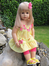Masterpiece ~ Julia ~ Blonde 32 Inch All Vinyl Doll by Monika Peter-Leicht