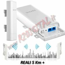 RANGE EXTENTER ANTENNA RIPETITORE TENDA O3 WIFI N INTERNET LUNGA DISTANZA 5KM