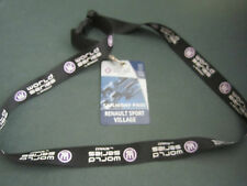 RENAULT WORLD SERIES  - GENUINE LANYARD UK VIP 2006 PRESS MEDIA LAUNCH PASS