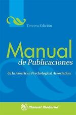 Manual de Publicaciones de la American Psychological Association = Publication M