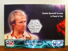Dr Who  Costume Card -RELIC CARD Genuine Spacesuit As Worn By PETER DAVISON,Prop