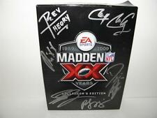 REV THEORY AUTOGRAPH MADDEN 2009 Collector's Edition GAME BOX _ All Band Members