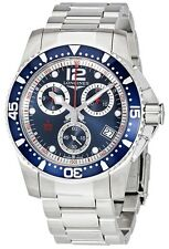 Longines HydroConquest Chronograph Stainless Steel Mens Watch L37434966