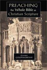 Preaching the Whole Bible as Christian Scripture: The Application of Biblical Th