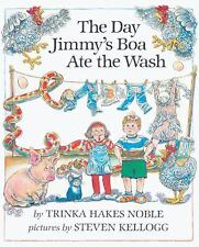 The Day Jimmy's Boa Ate The Wash (Turtleback School & Library Binding Edition) (