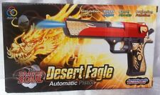 DRAGON SOUL Army Commando Machine Gun Pistol With Lights Pic And Sound Kids Toy