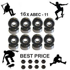 16 Abec 11 608 wheel bearings spacer stunt scooter skate inline Skateboard 7 9