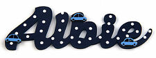 Personalised Children's Wooden Name Plaques / Bedroom Door / Door Sign / Cars#74