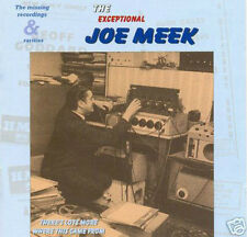 JOE MEEK - The Exceptional Rare & Missing Recordings CD