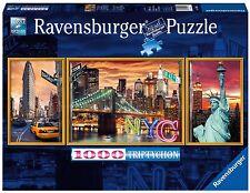 PUZZLE PUZLE JIGSAW RAVENSBURGER 1000 Pieces Pezzi SPARKLING NEW YORK 19995