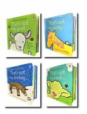 Farm Animals Collection Usborne Touchy-Feely 4 Books Set That's not my donkey...