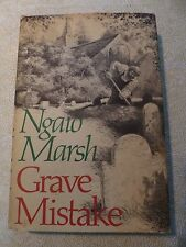 GRAVE MISTAKE by Ngaio Marsh - 1st American Edition HC 1978