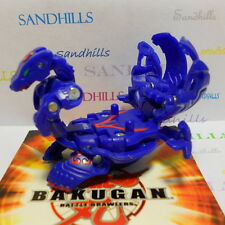 Bakugan Lumagrowl Blue Aquos Gundalian Invaders DNA 730G & cards