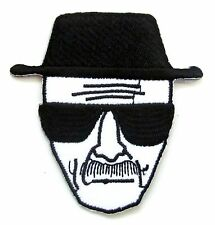 Heisenberg Iron On Patch- Breaking Bad Walter White TV Show Sew Patches Badge