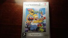 The Simpsons Hit & Run (Sony Playstation 2, PS2) And Car Racing Platinum