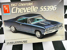 AMT 1/24 1967 CHEVY CHEVELLE SS396 PLASTIC MODEL KIT