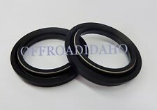 FRONT FORK TUBE DUST WIPER SEAL KIT YAMAHA YZ250F 2004 2005 2006 2007 2008 250F