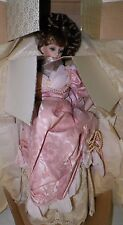FRANKLIN HEIRLOOM PORCELAIN DOLL GIBSON GIRL MOTHER AND CHILD BABY EUC BOX 20""