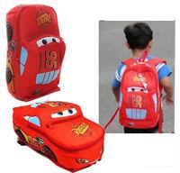 New Children Disney Pixar Cars McQueen Kids Boy's Backpack School Bag S/M/L 1-4Y