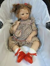 Tina Monika Levenig Brown Hair Eyes Doll Plaid Clothing Vinyl 199/400