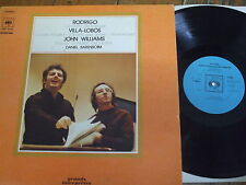 CBS 76369 Rodrigo / Villa-Lobos / Williams / Barenboim