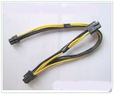 Mac Pro/g5 MINI MAC 6pin to 2 * PCI-E 6pin Video Card Power cable support 7800