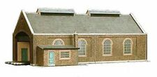 SUPERQUICK A5 TWIN TRACK ENGINE SHED OO GAUGE CARD KIT SUIT PECO HORNBY ETC