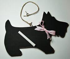 Negro Gato Perro Pizarra/Pizarra boda fiesta ideal para los amantes del perro