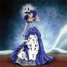 """Rowena"" Blue Willow Pattern Lady Figurine NEW"