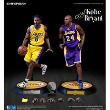 ENTERBAY NBA Kobe Bryant 1 6 Scale Real Masterpiece Action Figure 2-pack  for sale online  7fa777f53