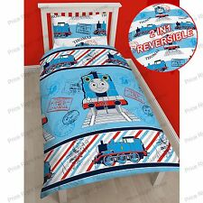 THOMAS & FRIENDS 'ADVENTURE' SINGLE DUVET COVER SET TANK ENGINE BEDDING