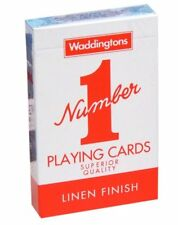 "Waddingtons ""Number 1"" Playing Cards Pack of two"