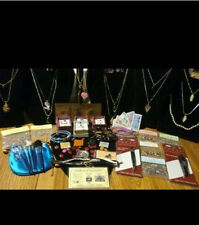 38Pc.JEWELRY LOT~GEMSTONE NECKLACES &GF PEARL NECKLACE&EARRING SET/GOLD$100&MORE