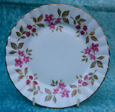 Royal Stafford Pottery Bone China Side plate Fragrance Pink Flora No18