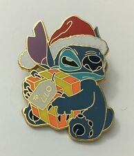 DISNEYSHOPPING.COM STITCH HOLDING PRESENT FOR LILO SANTA DISNEY PIN LE 1000