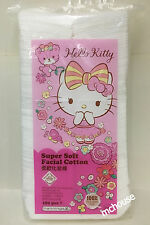 Hello Kitty Super Soft Facial Cotton for make-up removal & cleansing 180pcs
