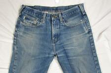 Carhartt B460 DVB Faded Denim Relaxed Fit Work Jeans Measure Size 34x30.5