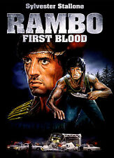 A4 Poster - Rambo First Blood (Blu-Ray DVD Movie Film Sylvester Stallone Art)