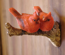 Garden Tree Decoration Two red birds on branch  ornament  24-530