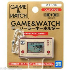 GAME WATCH MINI SOLAR KEY CHAIN HOLDER OCTOPUS GW LCD