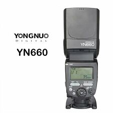 YongNuo YN660 2.4G Flash Wireless Transceiver Integrated for Canon Nikon Olympus