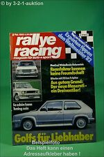 Rallye Racing 2/82 VW Golf Tuning Maserati Biturbo